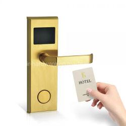 スマートで簡単な強打のカードのホテルのための電子鍵カードのドアロック