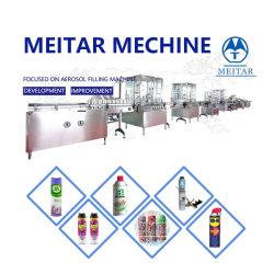 Macchina di rifornimento automatica della latta di spruzzo dell'aerosol di vendita diretta della fabbrica