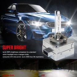 숨겨지은 전구 35W 크세논 헤드라이트 6000K 차 보충 램프 순수한 백색