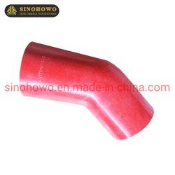 خرطوم المبرد البيني Dz93259535501 أفضل جودة لـ HOWO A7 Sinotruck Golden سعر قطع الغيار