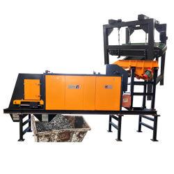 De gebruikte Separator van de Wervelstroom van de Capaciteit van de Separator van het Aluminium van het Koper van de Wervelstroom Magnetische Die wordt gebruikt om van Non-ferroMetalen van de Plastieken, het Koper en Alumi van het Schroot te scheiden