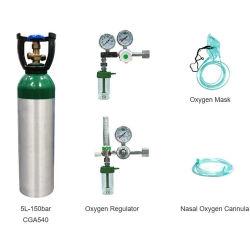 أسطوانة ثاني أكسيد الكربون 2L من الألومنيوم مادة الأصل صودا من الضغط العالي