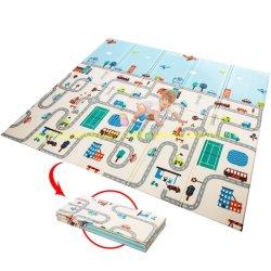 Zacht schuim opvouwbaar kindervloer kruipbak XPE schuim waterdicht Veilige speelmat voor baby's