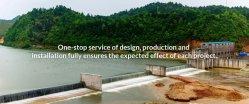 Air-Inflatable barrage en caoutchouc et porte en acier pour le contrôle des inondations /l'hydroélectricité