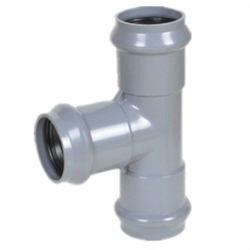 Des China-Lieferanten-Plastikgummiring-Verbindungs-Rohrfitting-UPVC Rohrfitting-Gummiring Rohrfitting-Gleichgestellt-des Stück-UPVC für Wasserversorgung LÄRM StandardPn10