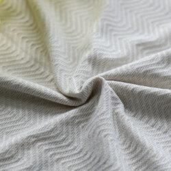 Elevado de Nylon Elástica Spandex Textura Onda metálicos calções de banho e tecido Sportwear
