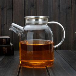 Verre borosilicaté bouilloire / eau Pot/ bouilloire résistant aux températures élevées 1800ml