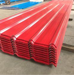 Feuille de toiture prépeint/ Color PPGI toiture en tôle acier ondulé