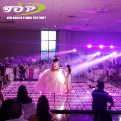 DMX LED DJはショー3Dの無限効果LEDのダンス・フロアDJの照明を上演する