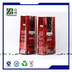 الشركة المصنعة للمعدات الأصلية السعر المخصص تغليف أرابيكا جافا مشوي الفول مربع كيس ثلج قهوة بروتين مسحوق فوري شراب تغليف حقيبة