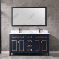 Governi di stanza da bagno completi dell'intarsio del metallo degli insiemi di vanità della stanza da bagno