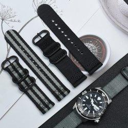 Ceinture de sécurité en nylon à boucle Zulu à attache rapide bracelet OTAN