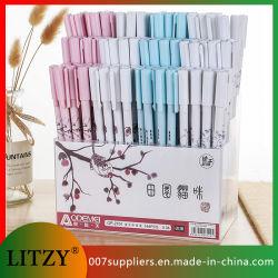 Оптовая торговля новые 4 цветов гель перо 0.38мм заправки записи перья для школы и рекламных подарков Gp-2701