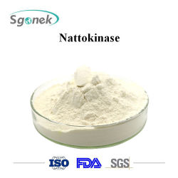 Grau alimentício Natto Extraia Nattokinase em pó Fabricação a venda de matérias-primas Nattokinase Nattokinase