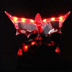 LED piscando traje de Halloween Parte acender máscara, mascarar a máscara de moda