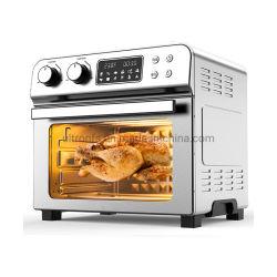 23L большая емкость Электрический сушильный шкаф тостер фритюрницы воздуха печь с одним нажатием кнопки цифрового управления