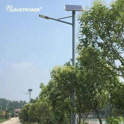 Jinko Painel Solar MPPT Smart Iot Zigbee controlando 30W escurecimento LED Solar Luz de rua com painel solar Powered Getway controlada pela APP e a plataforma de computação em nuvem