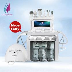 أفضل جودة 6 في 1 فقاعات الهيدروجين والأكسجين الصغيرة جهاز تجميل تقشير بالأكسجين العظيم