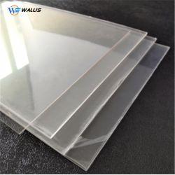 Alimentation d'usine 0.18-3mm feuille de plastique transparent gaufré PET pour le package et l'impression