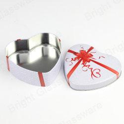 عالة يطبع معلنة حالة حبّ [هرت-شبد] عيد ميلاد المسيح عرس سكّر نبات كعك يعبّئ شوكولاطة هبة قصدير صندوق