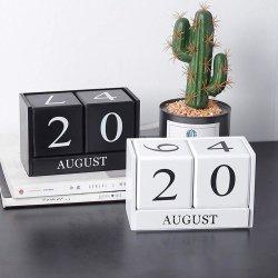 Il tavolo di legno Handmade ostruisce il calendario perpetuo per la decorazione del Ministero degli Interni
