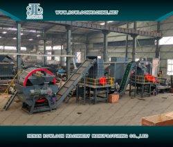 Vollautomatisch Raumtemperatur 24 Stunden Dauerbetrieb Abfall Alt Auto Truck Ort Reifen Tecycling Plant