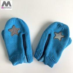Form-warmer reflektierender Fünf-Spitzer Stern-Handschuh