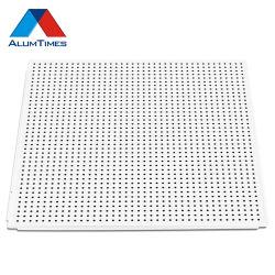600*600アルミニウム天井のボードは天井板の平たい箱で優雅置き、