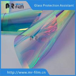Efecto de pared de cristal multicolor decorar dicroicos de vidrio de construcción de cine Películas de tinte Lámina fotocromáticos