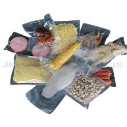 Sacchetti impaccanti di plastica del sacchetto di memoria di nylon su ordinazione di vuoto per i frutti di mare dei pesci del pollo della carne dell'alimento Frozen