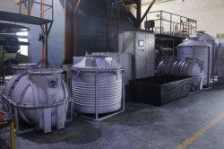 높은 생산 셔틀 Roto 주조 기계