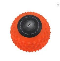 ヨガの球の振動者 Peanut ヨガの振動の練習の振動マッサージの球 ワークアウトボールホームジムスポーツボールヨガボールエクササイズジム 機械設備スポーツ用品