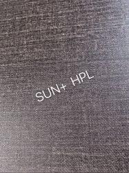 Laminado de alta presión para la compacta de textura de tela