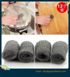 Кухонные чистящие Scourer шерсти из нержавеющей стали для мытья посуды