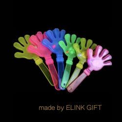 24cm 28cm 32cm LED plástico Ruído de Trovão Incandescentes Maker torcendo brinquedo suas portinholas de palma mão Flash