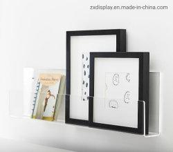 Montage mural Rack de stockage de plexiglas / Affichage sur le mur en acrylique étagère