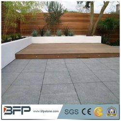 Duurzame graniet-asfalteersteen in een gevlamd oppervlak