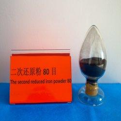 Polvo de hierro Fe polvo de hierro ferroso Pulveratum Ferrum hierro de reducción de polvo de talco en polvo de hierro de reducción de malla 80 de forros de freno/Pad (80.27)