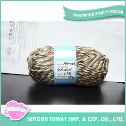 De nieuwe Katoenen van de Polyester van de Sjaal van Ontwerpen Acryl Gebreide Cardigan van het Garen