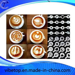 ステンレス鋼のコーヒー引きの花の印刷型(CP-03)