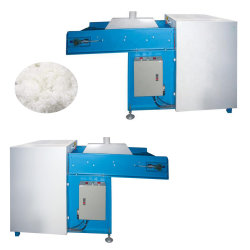 La perla de la máquina de bola de fibra de poliéster y fibra de bola de hacer el llenado de almohada sofá cojín