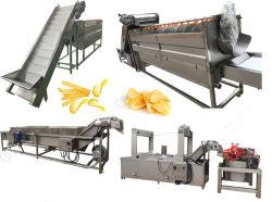 De gebraden Chips Bevroren Lopende band van de Machine van het Voedsel van Frieten