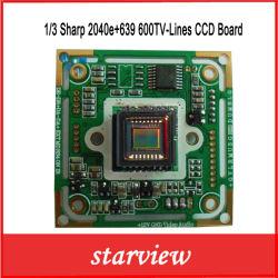 La vigilancia 1/3 Sharp 2040e+639 de la seguridad de 600 líneas TV junta de la CCD cámara CCTV