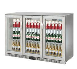 850/900mm de altura Barra Traseira 320/330L aço inoxidável frigorífico congelador