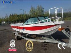 Aluminiumgeschwindigkeits-Fischen-Legierungs-Boot mit YAMAHA Motor für Verkauf