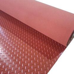 Plaque de diamant de revêtements de sol en caoutchouc/caoutchouc feuille de revêtement de sol de garage