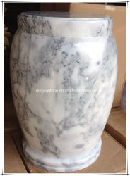 White Marble for Cremation Urns Funeral Urns Burial Urns Keepsake Urns