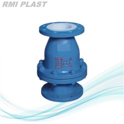 Klep van de Controle van de Schommeling van DIN Pn16 de Teflon Gevoerde