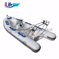 7.5m PVC/Hypalonの堅い外皮のFirberglassのボートへのIlife 2.6mか釣モーターボートの速度のボートのための4-8人3.8m-5.2mアルミニウムボート