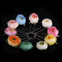 Оптовая торговля цветы контакт моды Style тканью Brooch